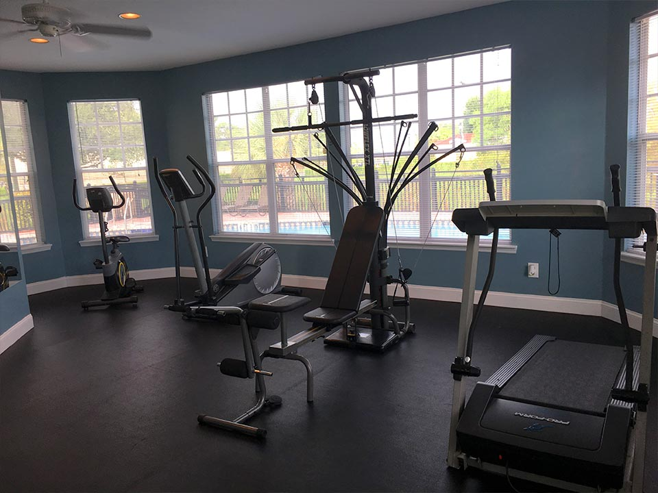 Photo Of Energizing Apartment Fitness Center.